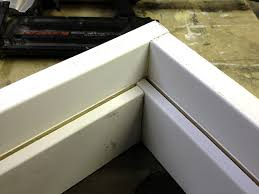 step 5 next you will want to cut a piece of mdf melamine or other smooth faced panel good to fit inside of your attic hatch it will sit right on top of