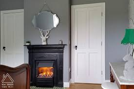 the house that will diy working fireplace without a chimney electric fire