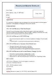 Fresher Job Resume D Pharmacy Resume Format For Fresher Resume Format