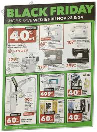 Joann Black Friday Sewing Machine