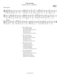 Walking In The Light Of God Lyrics African Children S Choir Hymn Trust And Obey