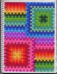 Color Graph Middle School Art