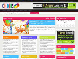 responsive blogger templates colours a free premium responsive blogger template exeideas