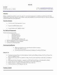 Best Resume Samples For Hr Freshers Inspirational Impressive Resume