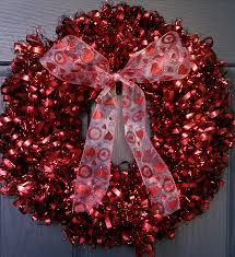 valentine wreaths for your front doorValentines Wreaths