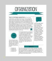 Microsoft Word Newsletter Free Editable Newsletter Templates Elegant Word Newsletter Template