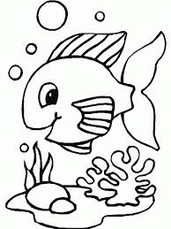 Small Picture Adult fish coloring page Fish Coloring Pages For Kids Fish