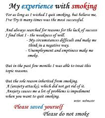 Ways to quit smoking essay