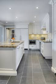 Picture Of Simple Grey Kitchen Tile Ideas Lovely Kitchens In 2019