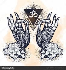 красивые картинки духовность красивые руки Drawn татуированные