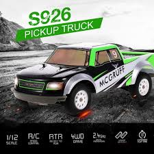 S926 Pickup Truck 1/12 RC Car 4WD 20mph High Speed Off Road RC Model ...