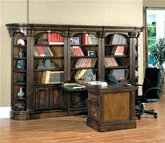 l shaped desk with bookcase house large bookcase display wall with two way  access peninsula desk . l shaped desk with bookcase ...