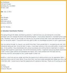 Volunteer Cover Letter Samples Volunteer Application Letter Volunteer Cover Letter No Experience