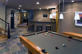 40 Home Basement Design Ideas For Men Masculine Retreats Fascinating Ideas For Finishing A Basement Plans