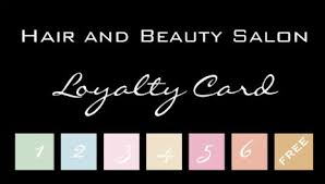Girly Loyalty Rewards Punch Card Business Cards Girly Business Cards