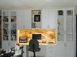 Custom built home office Woodwork Custom Built Home Office Wall Units Unit In Arctic White Traditional Home Office Safest2015info Custom Built Home Office Wall Units Home Office Wall Units