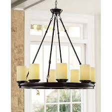 s mahogany wood ivory shade 8 light chandelier 249 99