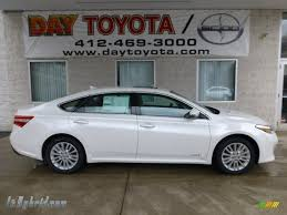 2013 Toyota Avalon Hybrid Limited in Blizzard White Pearl - 006108 ...