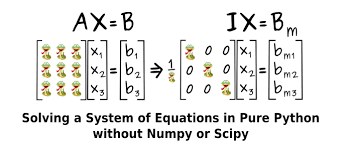 pure python without numpy or scipy