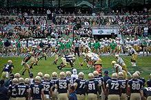 2012 Notre Dame Football Depth Chart 2012 Notre Dame Fighting Irish Football Team Wikipedia