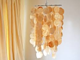 intermediate faux capiz shell pendant shell pendant light