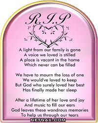 Image detail for -Rest In Peace RIP Graphics - Poems For Mom or ... via Relatably.com