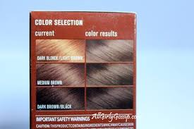 Medium Brown Hair Colour Chart Revlon Colorsilk Hair Color Review Shade Medium Brown