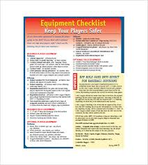 Equipment Checklist Best Equipment List Template 44 Free Sample Example Format Download