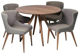 round walnut dining table and chairs walnut round dining table and chairs dining room table 3