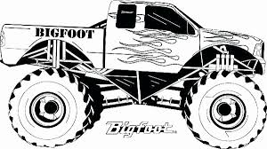 16 Unique Photos Of Printable Coloring Pages Monster Trucks