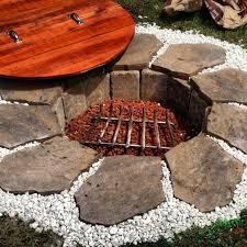 inground fire pit ideas in diy ground designs 16