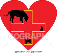Vector Art Small Animal Care Help Sign Clipart Drawing Gg54925094