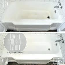 bathtubs tub and tile refinishing reviews bathtub white chicago il magic