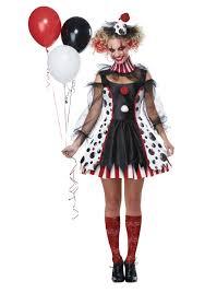 Lovely Creepy Clown Womenu0027s Costume