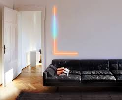 wall accent lighting. LIFX On Tuesday Announced The Beam Kit, A New HomeKit-ready Lighting Package That Adds Multicolored Accents To Walls. Wall Accent