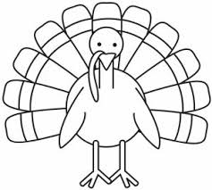 Small Picture Turkey Coloring Pages for Kids Preschool and Kindergarten