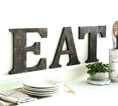 large wooden letters large letter wall decor wood and metal wall decor big letters for wall