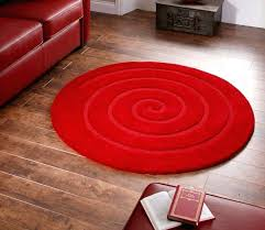 round red area rug small size circle circular
