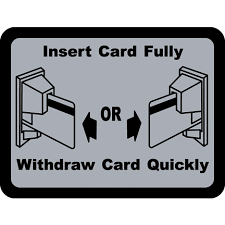 Decal Insert Card