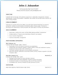 Resume Template Microsoft Word Download Word Resume Template Free ...