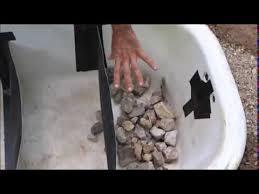 simple grey water system using a bathtub