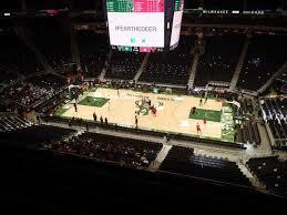 Milwaukee Bucks Seating Chart Map Seatgeek
