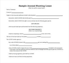 Hunting Rental And Lease Form Simple Ground Lease Agreement Template Farm Awesome Land Agricultural