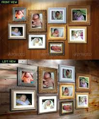 photo wall picture frame collage layout template for resume australia amazing templates in