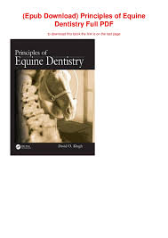 Epub Download Principles Of Equine Dentistry Full Pdf