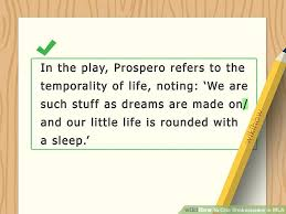 Quotation In Mla 3 Ways To Cite Shakespeare In Mla Wikihow