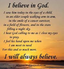 i believe in god essay essay on why i believe people should go to church and believe in god