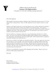 Ymca Resume Examples Cover Letter For Ymca Job Corptaxco 6