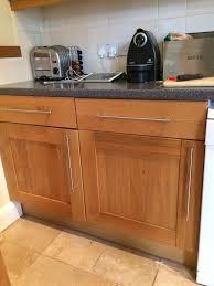 Bq Kitchen Kitchen Units Bq It Design Oak Cupboards In Dorchester Dorset