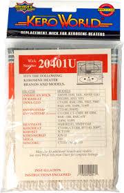 World Marketing 20401u Kero World Dyna Glo Replacement Wick